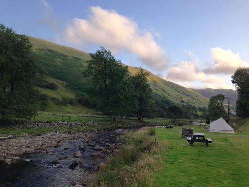 Cwmystwyth campsite